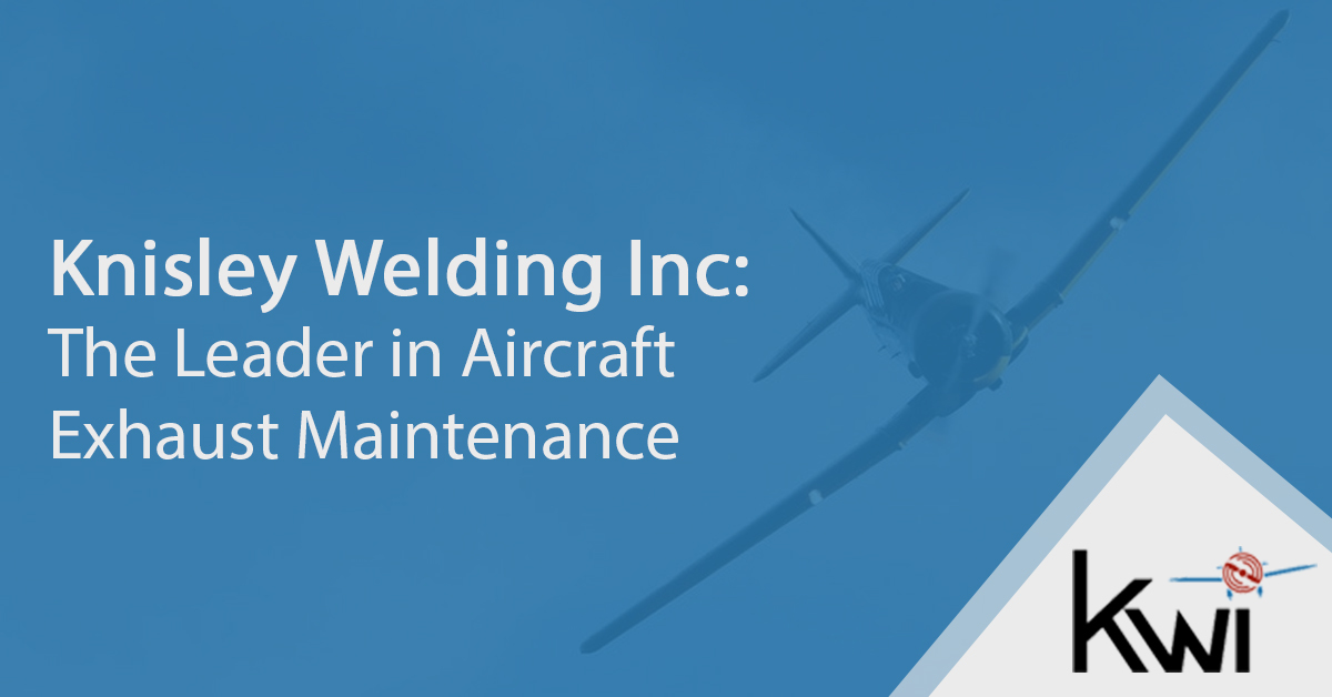knisley the leader in aircraft exhaust maintenance