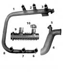 CESSNA 337/337P Exhaust