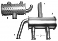 CESSNA 172/175 Exhaust