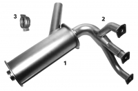 CESSNA 180/182/185 Exhaust