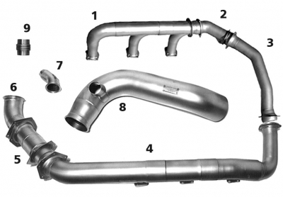 LH Exhaust