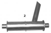 PARTENAVIA Partenavia P-68C K68-6.1033B2 Right Hand Muffler
